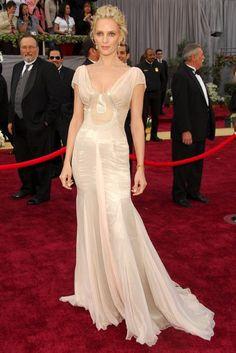 Uma Thurman - 50 Best Oscar Dresses - Marie Claire
