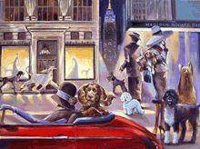 :: Trish Biddle Fine Art :: Figurative List :: Glamorous Women in Fabulous Places :: Kentucky Derby :: Westminster Dog Show :: Eva Longoria Minneapolis, Fabian Perez, Westminster Dog Show, Fine Art Posters, City Icon, Creation Photo, Alex Colville, Audrey Kawasaki, City Illustration