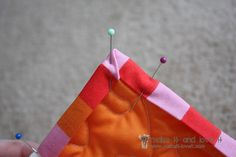 How to bind a basic quilt - GREAT pictures in tutorial from makeit-loveit.com