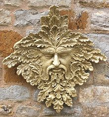 Charmant Green Man Garden Ornament Halford