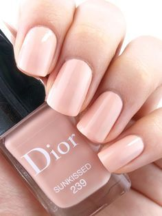 Dior nail polish in Sunkissed. So neutral and beautiful.