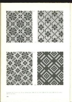 more stitching for fair isle or cross stitch . Fair Isle Knitting Patterns, Knitting Charts, Knitting Stitches, Knitting Designs, Motif Fair Isle, Fair Isle Pattern, Cross Stitching, Cross Stitch Embroidery, Cross Stitch Patterns
