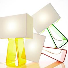 'Tube Top Color Lamp by Pablo. @2Modern'