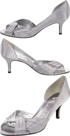 Nina Women's Culver-YS Dress Pump,Silver,8 M US