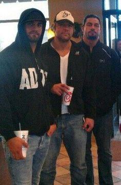 Seth Rollins & Dean Ambrose & Roman Reigns