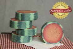 Summertime Rimmed Soap by Ann Kruschke