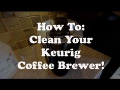 how to clean k cup needle