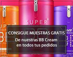 Muestras gratis de BB Cream con todos tus pedidos #skin79 #missha #cosmetica coreana #skinthinks