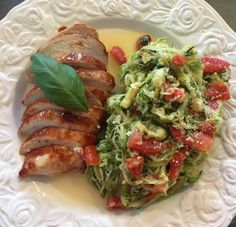 Squash, Lchf, Parmesan, Sausage, Chicken Recipes, Tacos, Strawberry, Easy Meals, Low Carb