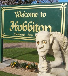 Welcome to Hobbiton an exact representation of the shire in New Zeland..so have to go there