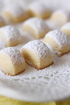 Soft Shortbread Cookies melting moments