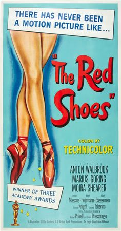 The Red Shoes, 1948.  Astonishing film  I just saw it for the first time 2 years ago.