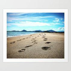 The+Beach+Art+Print+by+Steffen+Glaeser+-+$20.00