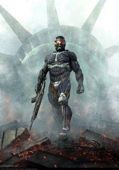 Crysis 2. BADASSERY :D Auction your comics on http://www.comicbazaar.co.uk