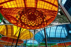 """""""Daniel Buren becomes the fifth artist to take part in Paris's Monumenta project with his kaleidoscope installation"""""""