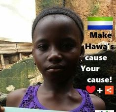 Meet SUNDAY'S CHILD, Ebola's orphan Hawanatu, age 10. Help Hawa raise awareness - Pin me - ❤ me + share me for Ebola's 12,000+ Generation.                SUPPORT HAWA'S cause FIND her friends & CREATE your own Board #4EbolaOrphans !       Mix it up with pins of your own - Get creative #4ebolaorphans & we'll feature every Board on our website to show our appreciation!