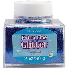 It's easy to add sparkle and shine to any project with this shaker bottle of glitter! Scrapbook Supplies, Craft Supplies, School Supplies, Extra Fine Glitter, Galaxy Slime, Arts And Crafts, Paper Crafts, Art Supply Stores, Galaxy Art