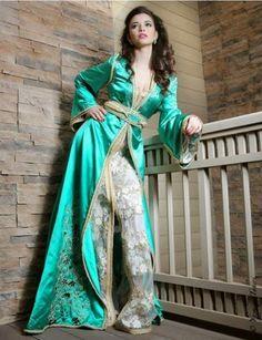 Modern Caftans Dress Shape and Design