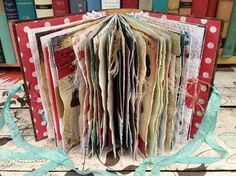 Junk Journal Tutorial with Hidden Stitch Spine