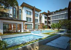 Elegant Metro Manila Properties: DOVER HILL Luxury Townhouse for Sale in San Juan, ... Manila, Townhouse, Mansions, Elegant, Luxury, House Styles, Home, San Juan, Classy