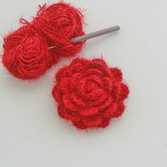 Crochet Brooch Rose Brooch Corsage Brooch Pin by CraftsbySigita