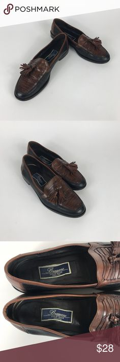 cd2606d3c08 Men s Cole Haan Bragano Italy Weave loafer 8.5 D Pre owned Cole Haan  Bragano Tassel Loafers