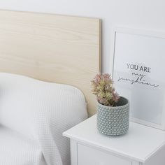 Rattan, Floating Nightstand, Bed Pillows, Ikea, Bedroom, Beds, Table, Inspiration, Furniture