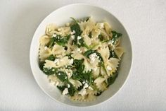 spinach and feta bowties