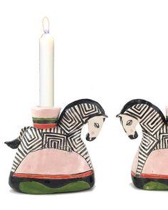 Zebra CANDLESTICKS – THE SHOP FLOOR PROJECT