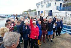Brixham celebrates as community wins right to run Shoalstone open air pool