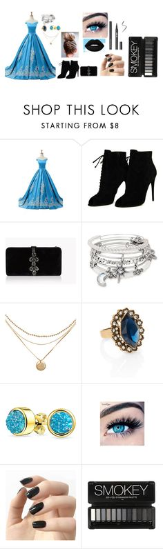 """Ballroom Dancing"" by chatchachildp on Polyvore featuring Tom Ford, Dsquared2, Alex and Ani, Chloe + Isabel, Bling Jewelry, MINX, Incoco, Prom, BlueandBlack and ballroom"