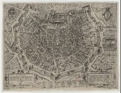 Milano  1580 ca | Matteo Florimi Formis (alta definizione)
