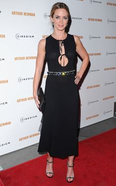 Emily Blunt arriving at the premiere of 'Arthur Newman' at the ArcLight Theatre in Hollywood, California - April 18, 2013 - Photo: Runway Manhattan/Bauer-Griffin