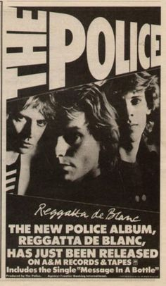 The Police Promotional Ad https://www.facebook.com/FromTheWaybackMachine