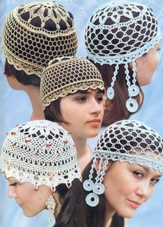 Модель 27 - 29 I love these and they would go so well with today's straight hairstyles!