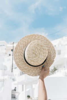 Blue_Dress-Soludos_Escapes-Soludos_Espadrilles-Canotier-Hat-Lack_Of_Color-Summer-Santorini-Collage_Vintage-80