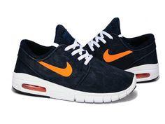 purchase cheap ac2e5 da6cd Nike SB Stefan Janoski Max New Slate Atomic Mango White Mens Womens  Shoes,Discount shoes