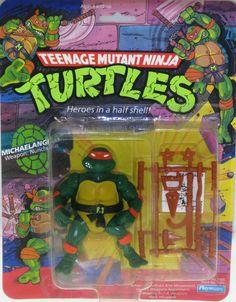 Teenage Mutant Ninja Turtles action figure:  Michaelangelo