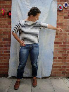 Marilla Walker: Free sailors top/dress pattern - Free pattern refresh - now a t-shirt and a dress!