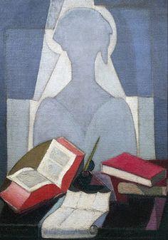 The poet, by Angel Zarraga - Angel Zárraga as art print or hand painted oil. Paul Cezanne, Henri Matisse, Expo Grand Palais, Eros And Psyche, Diego Rivera, Canvas Prints, Art Prints, Medium Art, Female Art