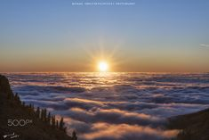 Sunset over the clouds (Tenerife) - Tenerife  #spain #sunset #sky #travel #travelphotography #travelblogger #travelling #nature #naturephotography #naturelovers #naturepics #photography #art #clouds #sun #tenerife #overtheclouds #goldenhour #colour