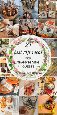 21 Best Gift Ideas for Thanksgiving Guests - Home Inspiration and Ideas   DIY Crafts   Quotes   Party Ideas