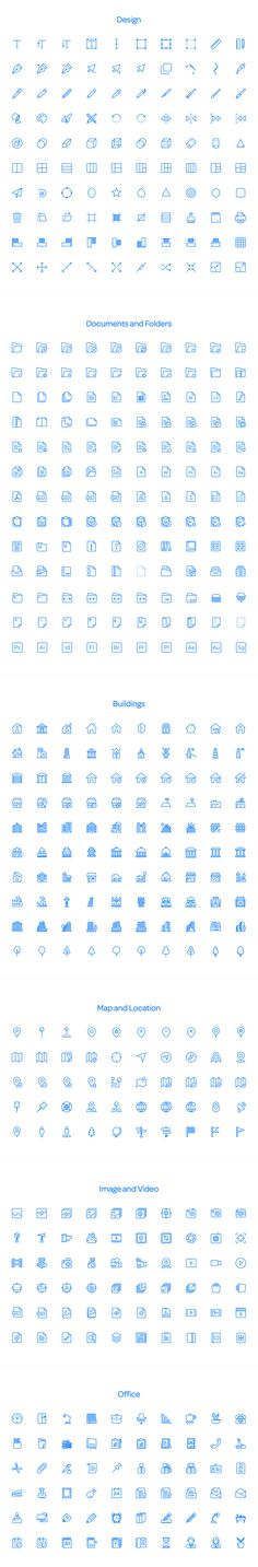 Squid Ink Line Icon Pack by Web Icon Set on Creative Market