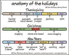 anatomy of the holidays