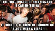 "The final episode of ""Breaking Bad"""