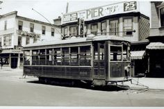 1930's Old Orchard Beach Maine Trolley #604.