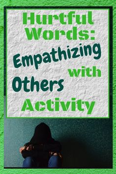 An engaging activity that teaches middle and high school students about how hurtful words can impact them and others!