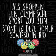 #olympischespelen #rio #shoppen