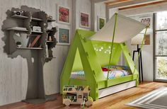 Tent Beds for Kids Offering Cozy and Playful Retreats with Interior Lights