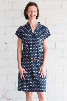 """Tolles Kleid mit Biesen """"FinasKleid"""" & E-Book Verlosung   Selbermachen macht glücklich: DIY, Nähen, Biostoffe, Biogarten #diy #nähen #biostoffe #tutorial #anleitung #verlosung #bernina"""